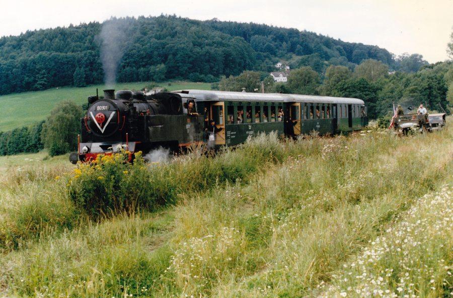 Akce vlak na muzejní železnici Česká Kamenice - Kamenický Šenov