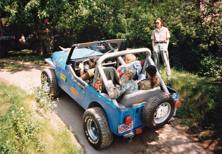 Sraz majitelů terénních vozidel